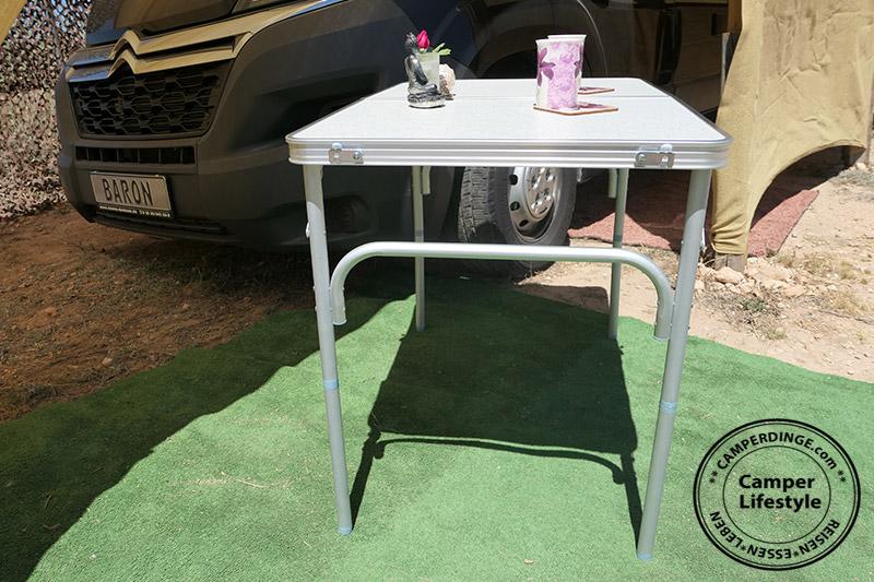 campingtisch f r kastenwagen camper dinge. Black Bedroom Furniture Sets. Home Design Ideas
